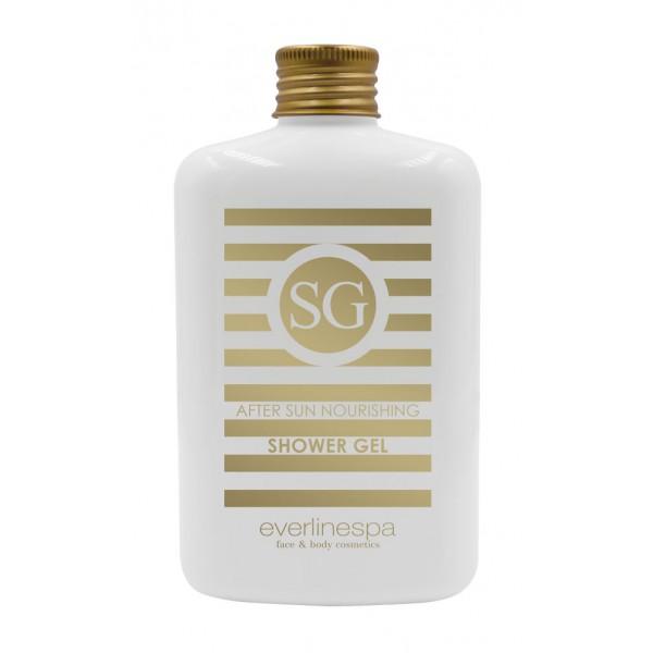 Everline Spa - Perfect Skin - Gel Doccia Nutriente Dopo Sole - Sun Protection - Professional