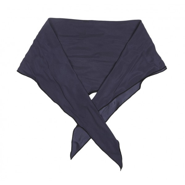 Hermès Vintage - Los Angeles Silk Scarf - Blu Navy - Foulard in Seta - Alta Qualità Luxury
