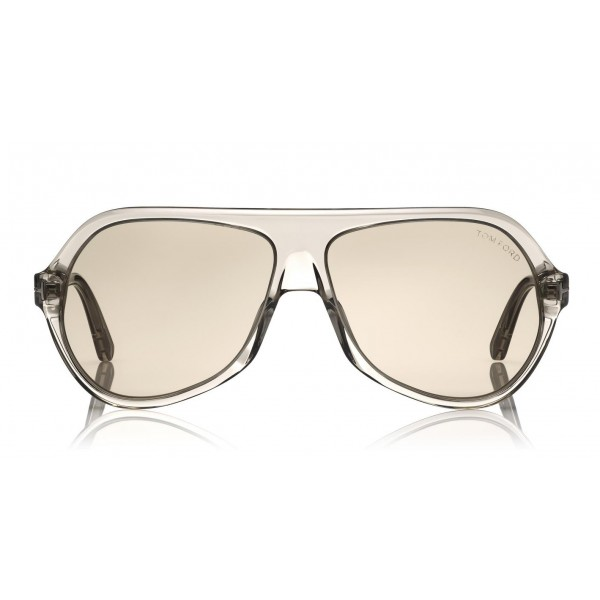 Tom Ford - Thomas Sunglasses - Occhiali da Sole Pilot in Acetato - FT0732 - Occhiali da Sole - Tom Ford Eyewear