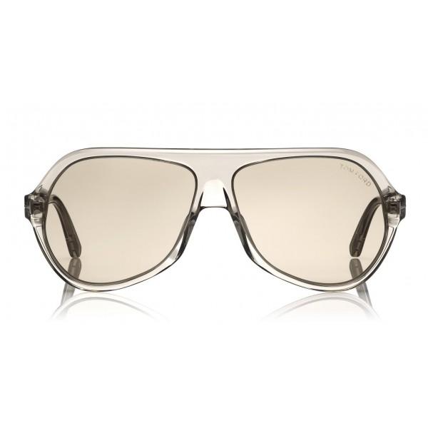 Tom Ford Thomas Sunglasses Pilot Acetate Sunglasses Ft0732 Grey Tom Ford Eyewear Avvenice