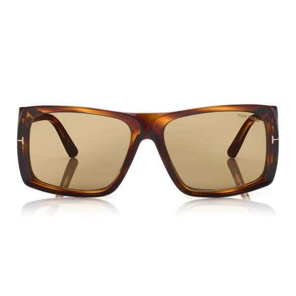 Tom Ford - Rizzo Sunglasses - Occhiali da Sole Quadrati in Acetato - FT0730 - Occhiali da Sole - Tom Ford Eyewear