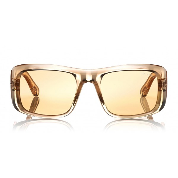 Tom Ford - Aristotele Sunglasses - Occhiali da Sole Quadrati in Acetato - FT0731-O - Occhiali da Sole - Tom Ford Eyewear