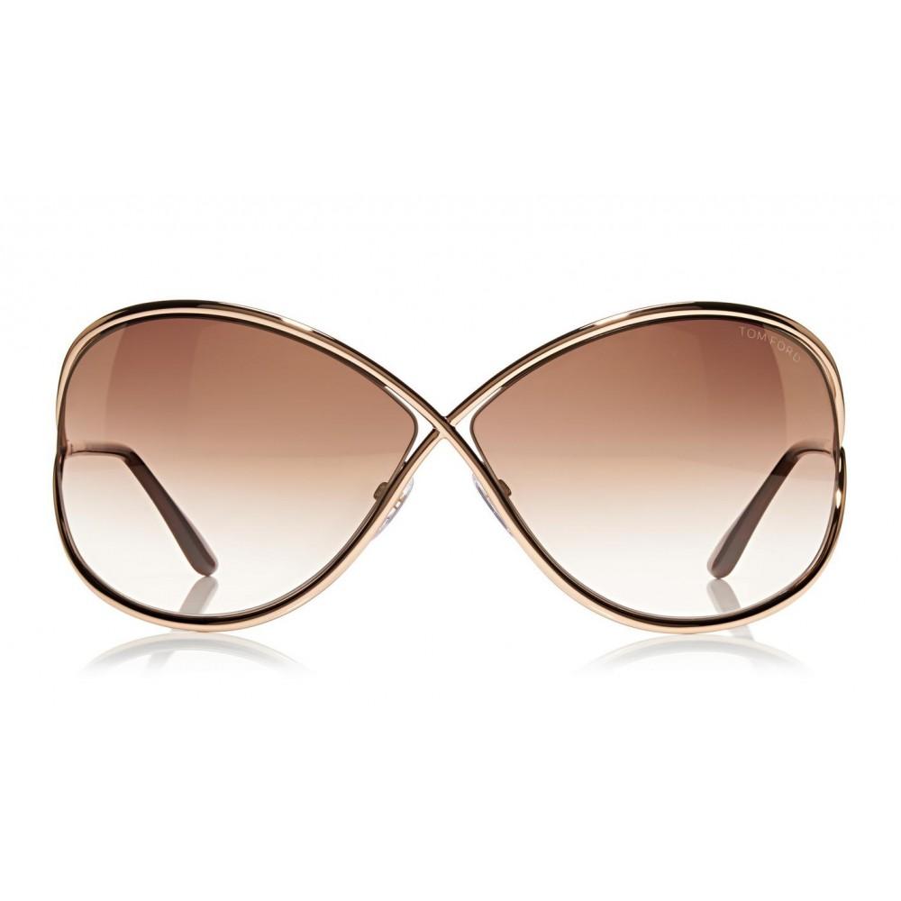 e345c160a38e ... Tom Ford - Miranda Sunglasses - Oversized Square Acetate Sunglasses -  FT0130 - Sunglasses - Tom ...