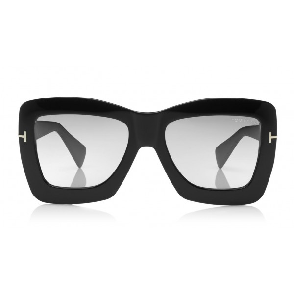 Tom Ford - Hutton Sunglasses - Occhiali da Sole Quadrati in Acetato - FT0664 - Occhiali da Sole - Tom Ford Eyewear