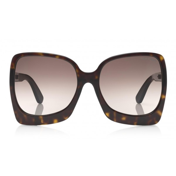 Tom Ford - Emmanuella Sunglasses - Occhiali da Sole a Farfalla in Acetato - FT0618 - Occhiali da Sole - Tom Ford Eyewear