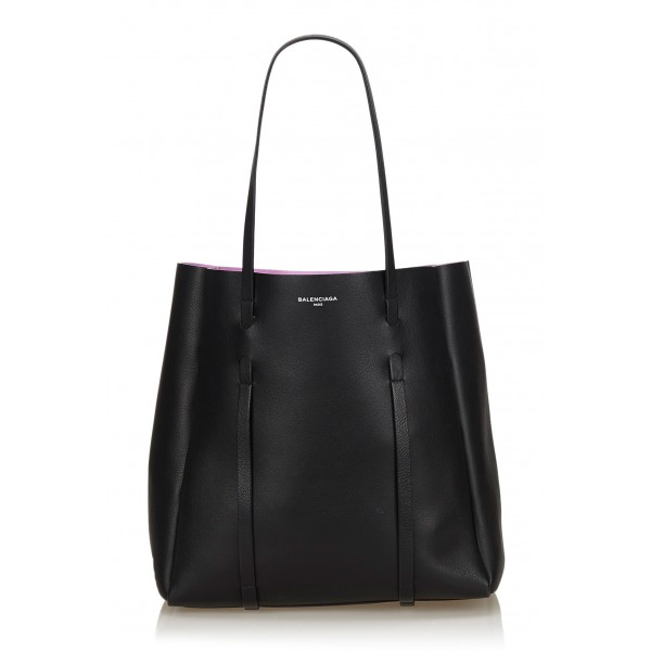Balenciaga Vintage - Everyday Tote Bag - Black - Leather Handbag - Luxury High Quality