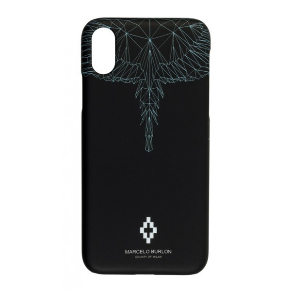 Marcelo Burlon - Cover Neon Wings - iPhone X / XS - Apple - County of Milan - Cover Stampata