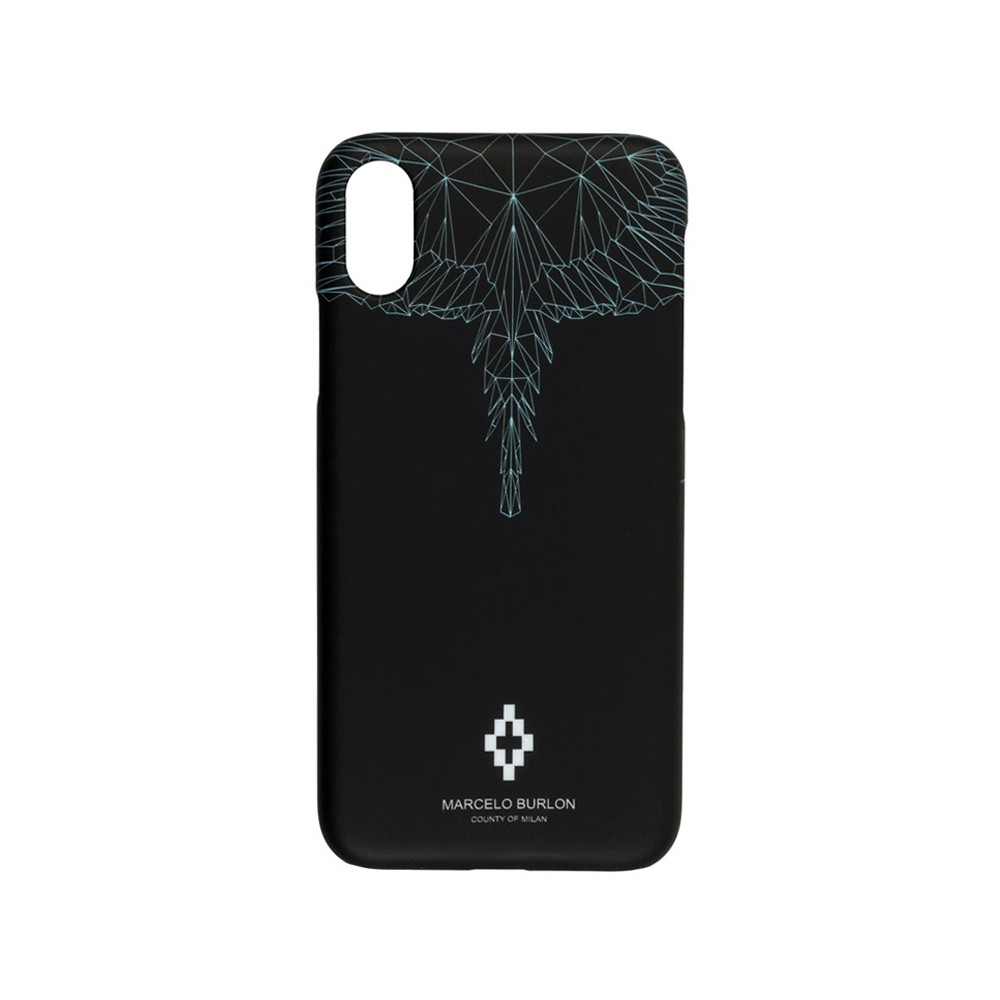 751d0dd0 Marcelo Burlon - Neon Wings Cover - iPhone XS Max - Apple - County of Milan  - Printed Case - Avvenice