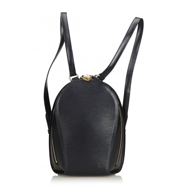 Louis Vuitton Vintage - Epi Mabillon Bag - Black - Leather and Epi Leather  Backpack - Luxury High Quality