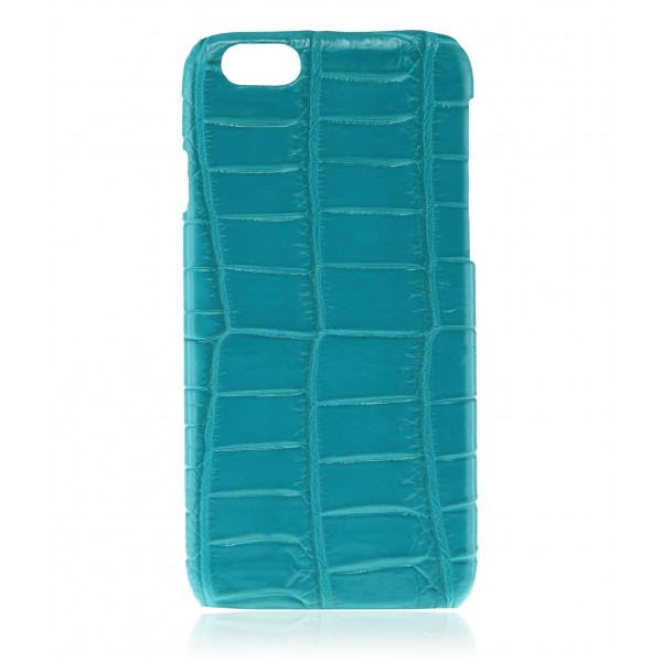 2 ME Style - Cover Croco Turquoise - iPhone 6/6S