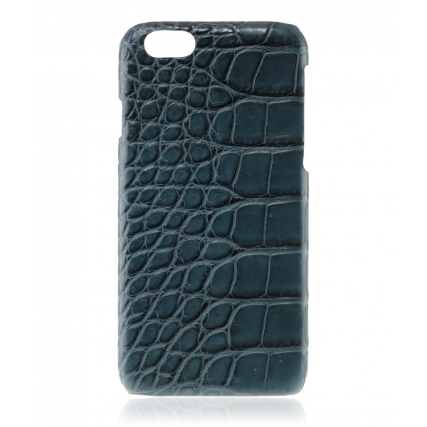 2 ME Style - Case Croco Navy Blue - iPhone 6/6S