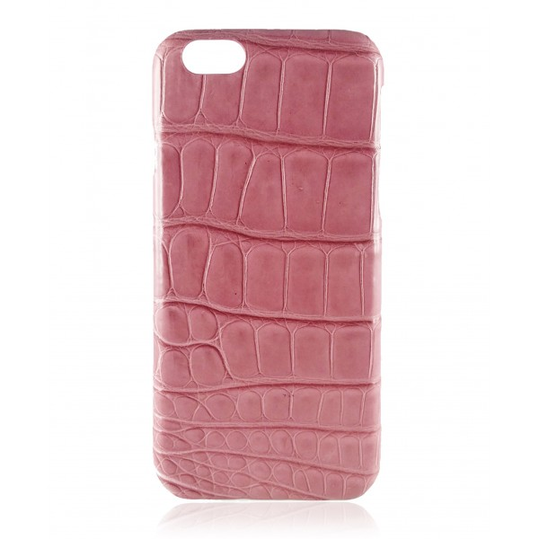 2 ME Style - Cover Croco Mauve Blush - iPhone 6/6S