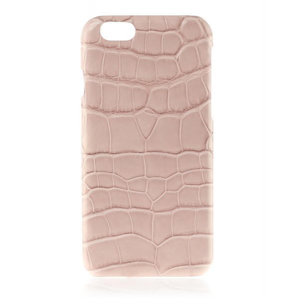 2 ME Style - Case Croco Powder Pink - iPhone 6/6S