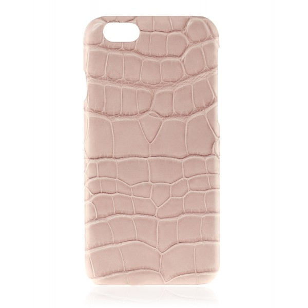 2 ME Style - Cover Croco Powder Pink - iPhone 6/6S