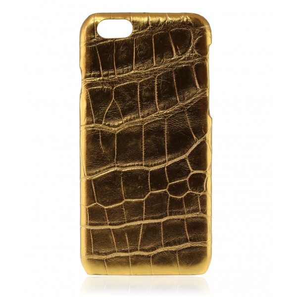 2 ME Style - Cover Croco Star Gold - iPhone 6/6S
