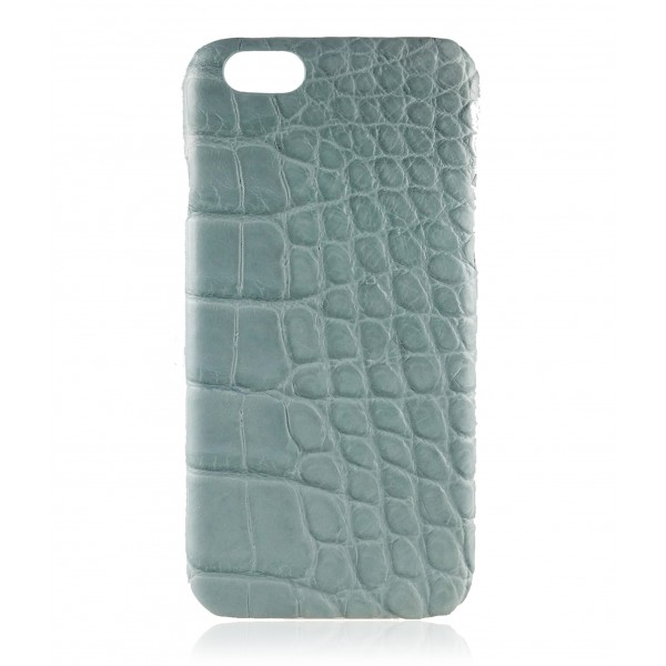 2 ME Style - Cover Croco Nappato Oceano - iPhone 6/6S