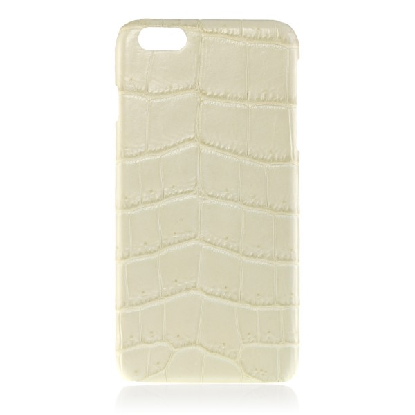 2 ME Style - Case Croco Ivory - iPhone 6/6S