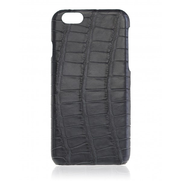 2 ME Style - Cover Croco Gray Antracite - iPhone 6/6S