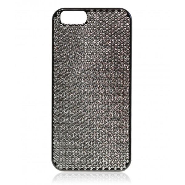 2 ME Style - Case Blackdiamond Swarovski Crystal - iPhone 6 6S - Avvenice dcf3a0c63c80