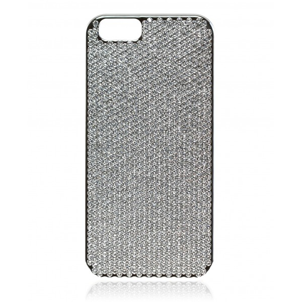 2 ME Style - Case Swarovski Silver Crystal - iPhone 6/6S