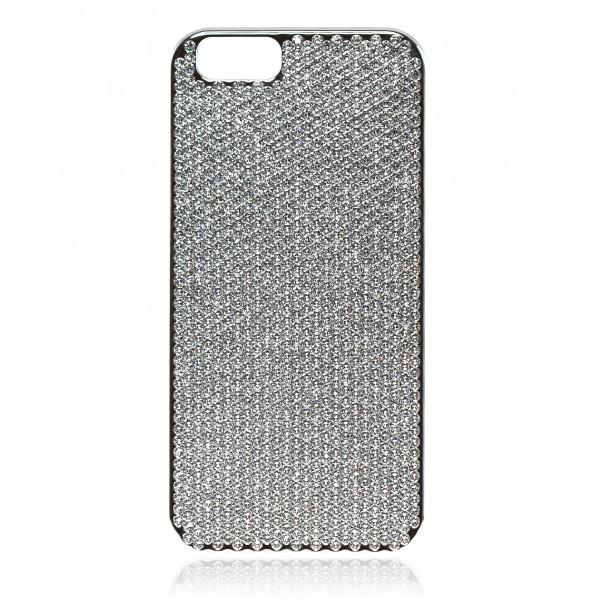 huge discount 20d5d 59bda 2 ME Style - Case Swarovski Silver Crystal - iPhone 6/6S