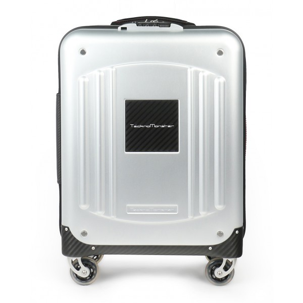 TecknoMonster - Akille TecknoMonster - Aluminum and Aeronautical Carbon Fibre Trolley Suitcase