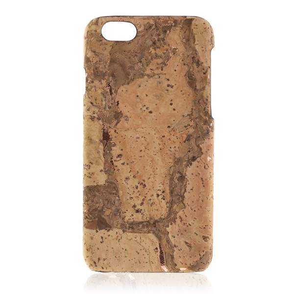 2 ME Style - Case Cork Travertino Rose Gold - iPhone 6/6S