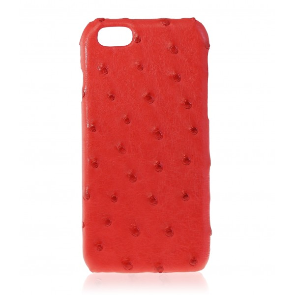 2 ME Style - Case Ostrich Scarlet Red - iPhone 6/6S