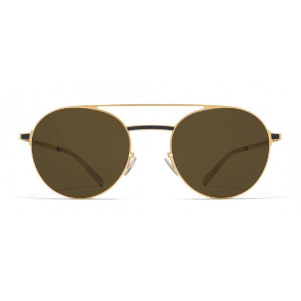 Mykita - Eri - Occhiali da Sole Ovali in Metallo - New Collection - Mykita Eyewear