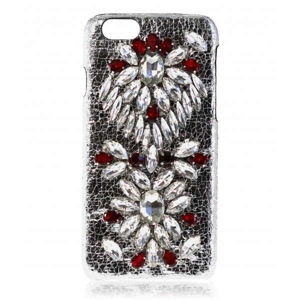2 ME Style - Case Embroidery Crystal Ruby - iPhone 6/6S