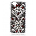 2 ME Style - Cover Embroidery Crystal Ruby - iPhone 6/6S