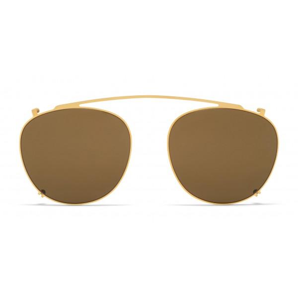 Mykita - Nukka Shades - Occhiali da Sole Rotondi in Metallo - New Collection - Mykita Eyewear