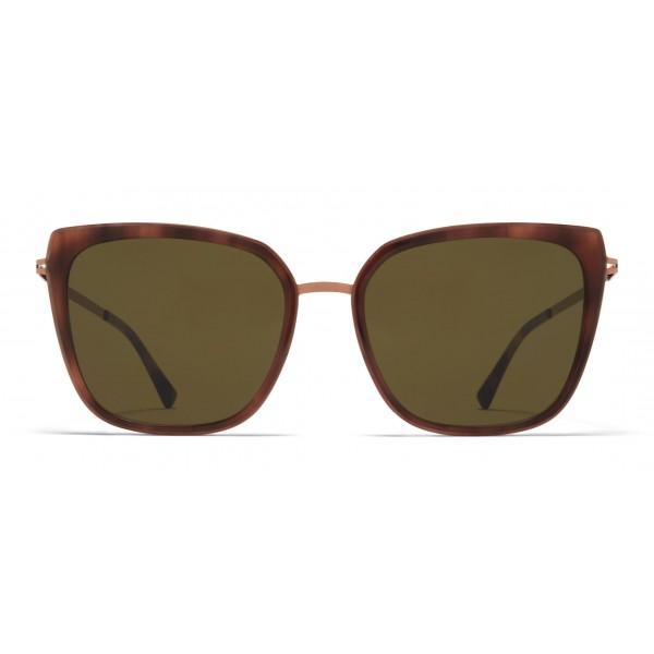 Mykita - Sanna - Occhiali da Sole Quadrati in Metallo - New Collection - Mykita Eyewear