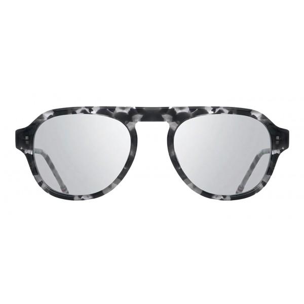 Thom Browne - Occhiali da Sole in Argento e Oro Bianco - Thom Browne Eyewear