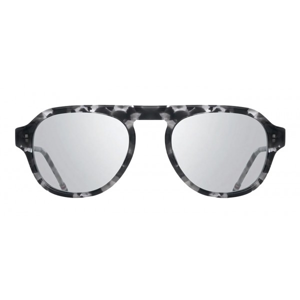 d2edfccaa45 Thom Browne - Silver and White Gold Sunglasses - Thom Browne Eyewear -  Avvenice