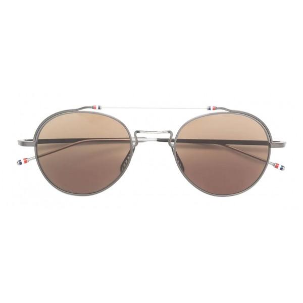Thom Browne - Occhiali da Sole Neri in Titanio - Thom Browne Eyewear