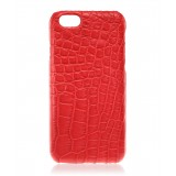 2 ME Style - Cover Croco Cherry - iPhone 6/6S