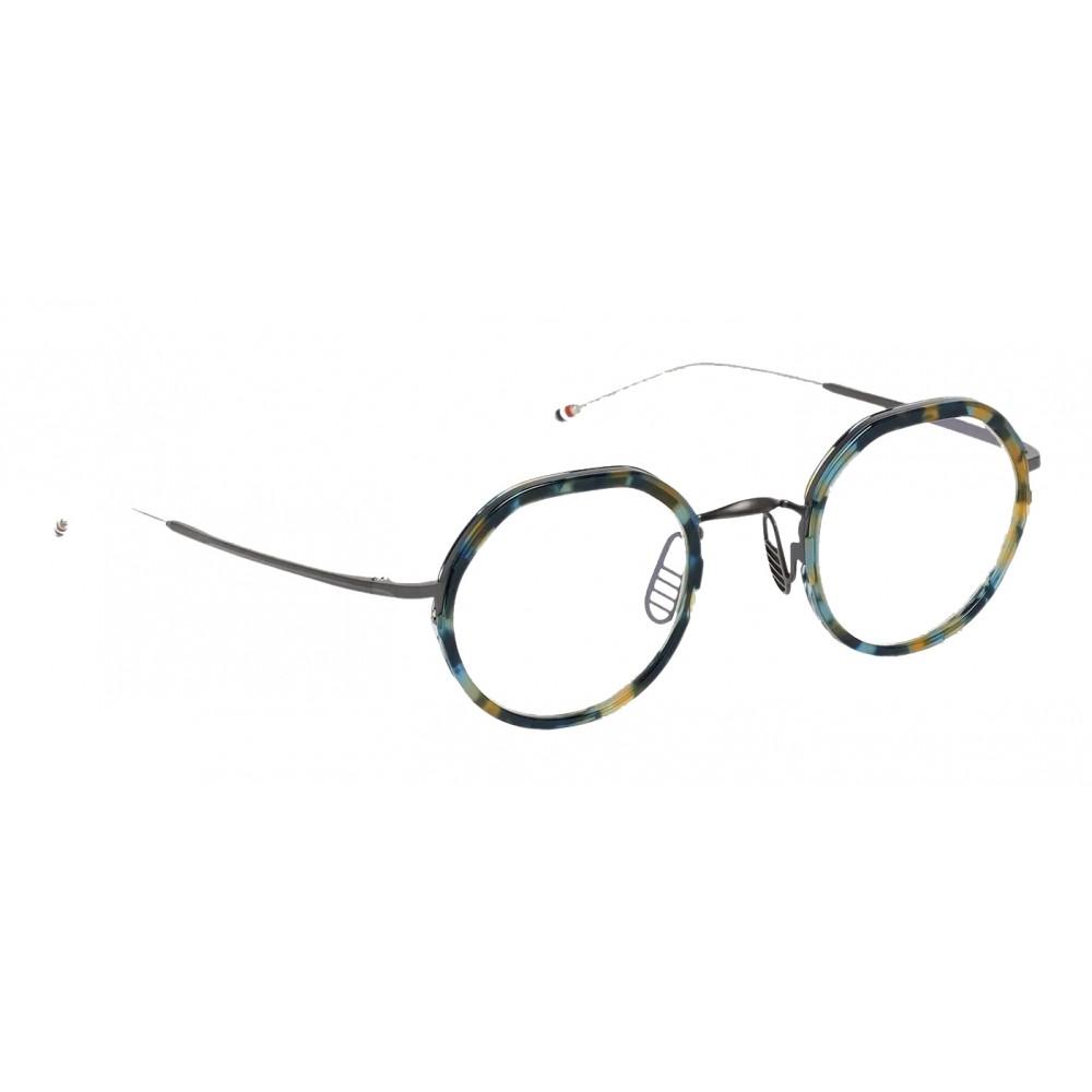 f53e8ab51 ... Thom Browne - Round Tortoise Optical Glasses - Thom Browne Eyewear ...