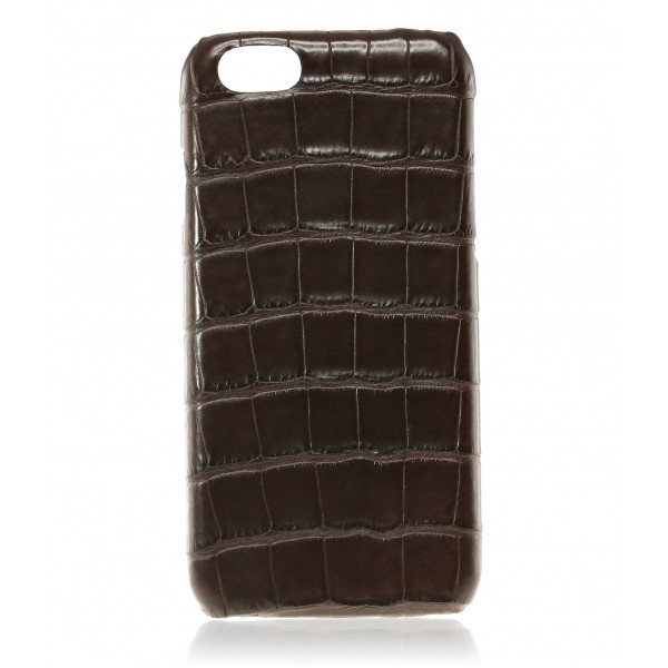 2 ME Style - Cover Croco Marron - iPhone 6/6S