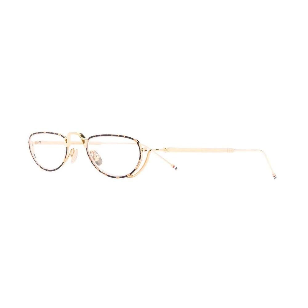78777d027 ... Thom Browne - White Gold and Tortoise Shell Tone Optical Glasses - Thom  Browne Eyewear ...