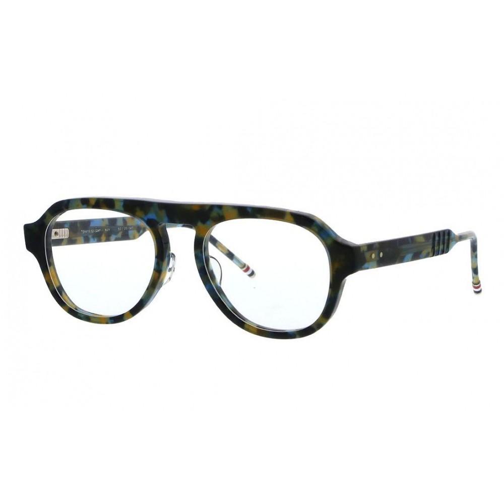 521383706 ... Thom Browne - Navy and Tortoise Shell Tone Optical Glasses - Thom  Browne Eyewear ...
