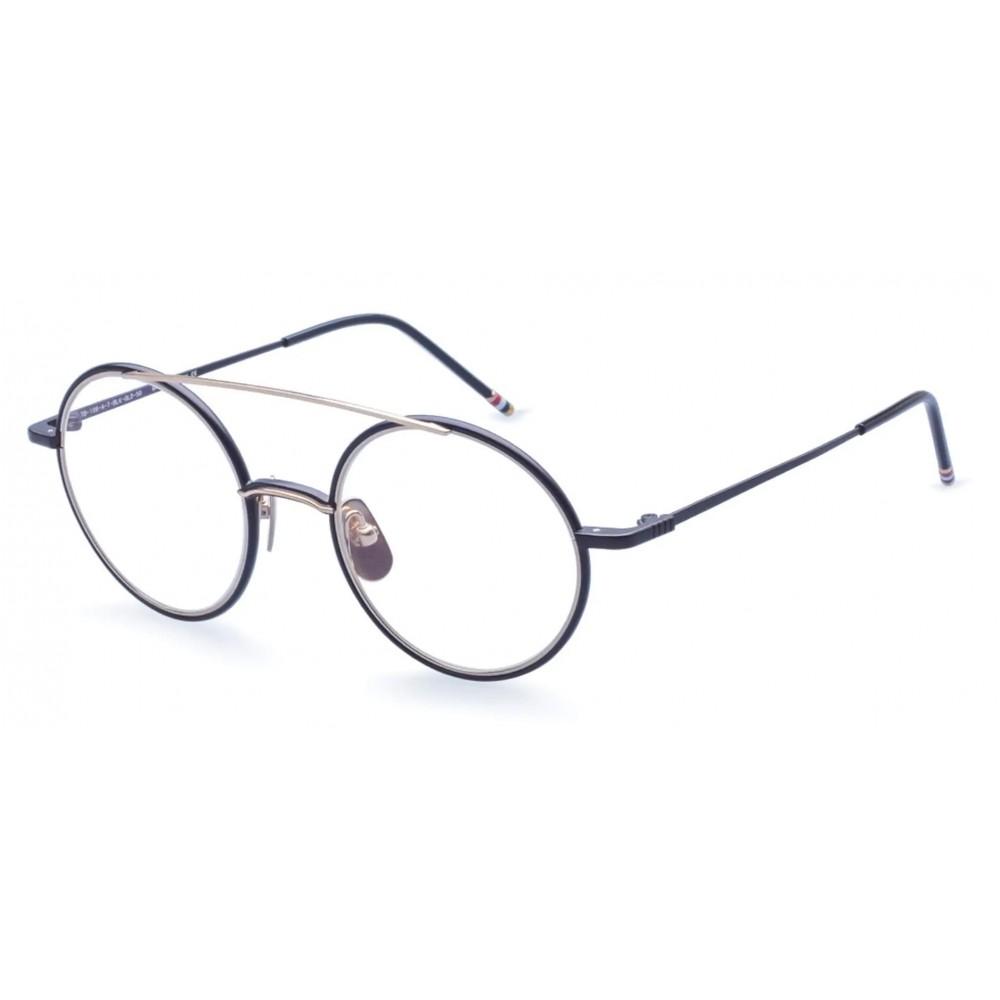 daef35f22 ... Thom Browne - Black Iron & 18K Gold Optical Glasses - Thom Browne  Eyewear ...