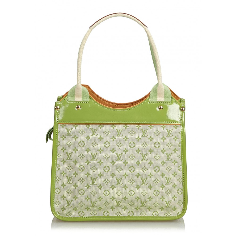 ce997f7c6 ... Louis Vuitton Vintage - Monogram Mini Lin Sac Kathleen Bag - Green -  Monogram Leather Handbag ...