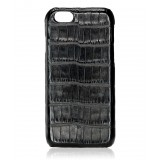 2 ME Style - Cover Croco Nero - iPhone 6/6S