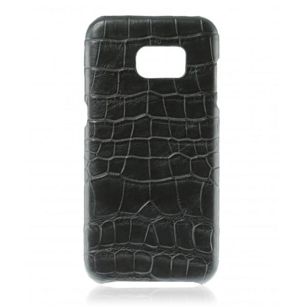 2 ME Style - Cover Croco Black - Samsung S7