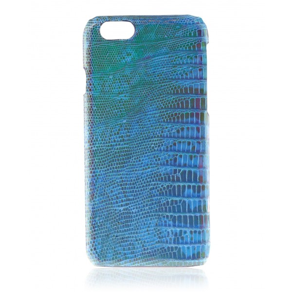2 ME Style - Cover Lucertola Blue Pearl Glossy - iPhone 6Plus