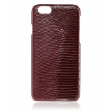 2 ME Style - Case Lizard Bordeaux Lisse Glossy - iPhone 6Plus