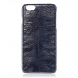 2 ME Style - Cover Lucertola Dark Blue Glossy - iPhone 6Plus