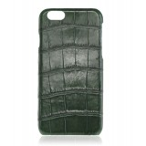2 ME Style - Case Croco Vert Bouteille - iPhone 6Plus