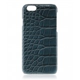 2 ME Style - Cover Croco Navy Blue - iPhone 6Plus